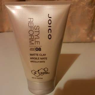 joico style reform 08 matte clay