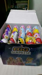 EGG SURPRISE 60 PCS 1box