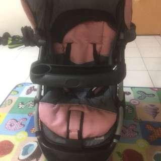 stroller scr1 pink