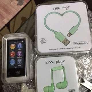 iPod Nano 6th gen 16 gb blk