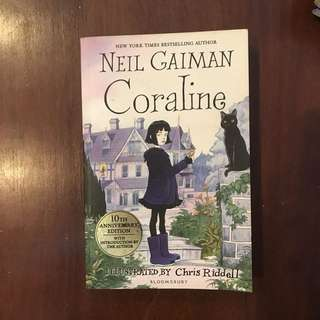 #Blessing Coraline by Neil Gaiman