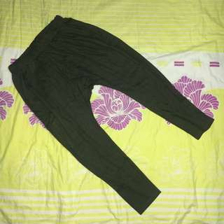 Army Green Harem Pants by HTP