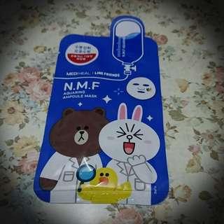 N.M.F Aquaring Ampoule Mask #滄海遺珠