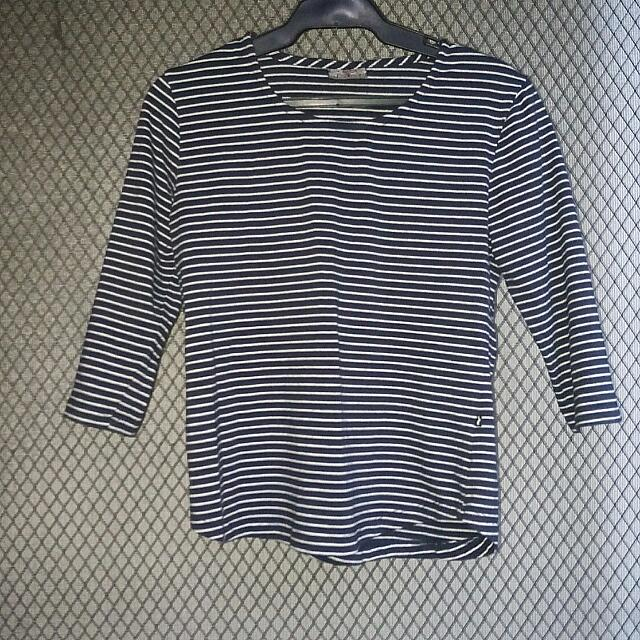 3/4 Stripe Blouse