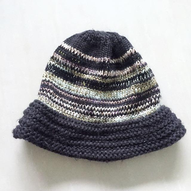 毛線針織漁夫帽