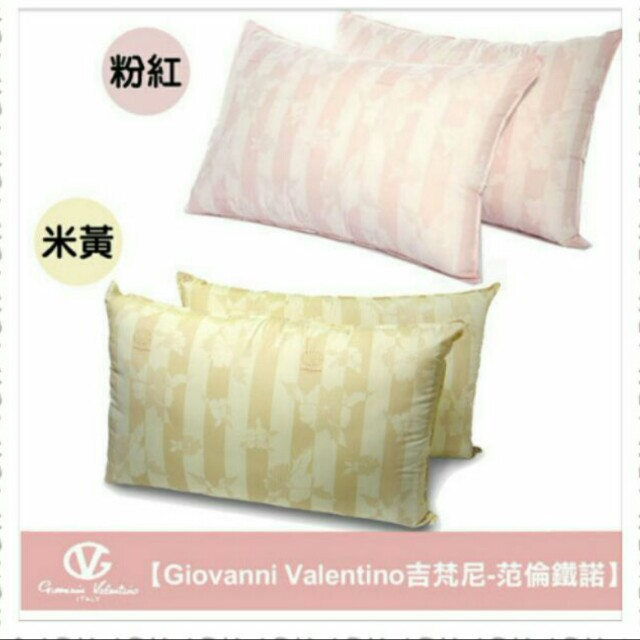 范倫鐵諾 - 健康防蟎抗菌枕(一組2入)