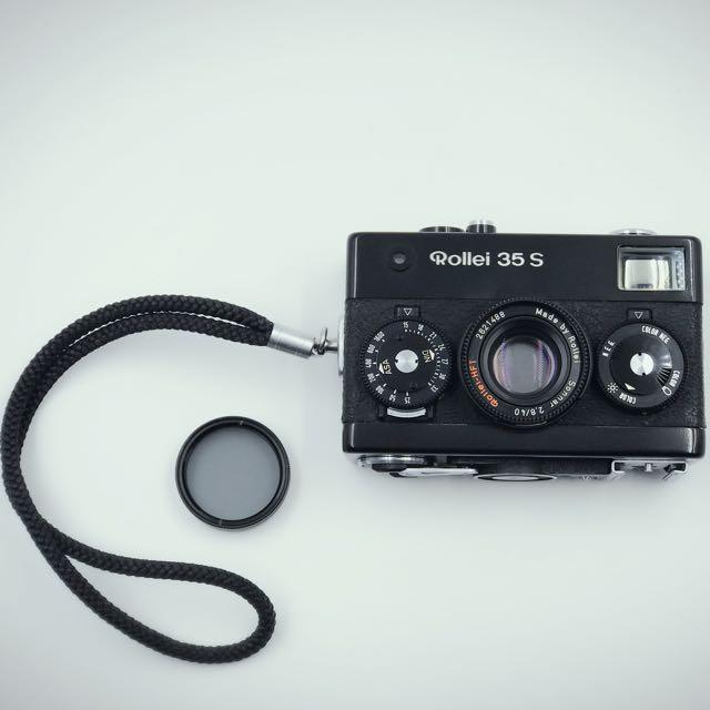 德國祿萊 Rollei 35S 半格相機