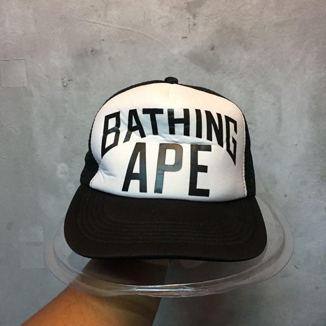 a bathing ape trucker hat bc69760efc81