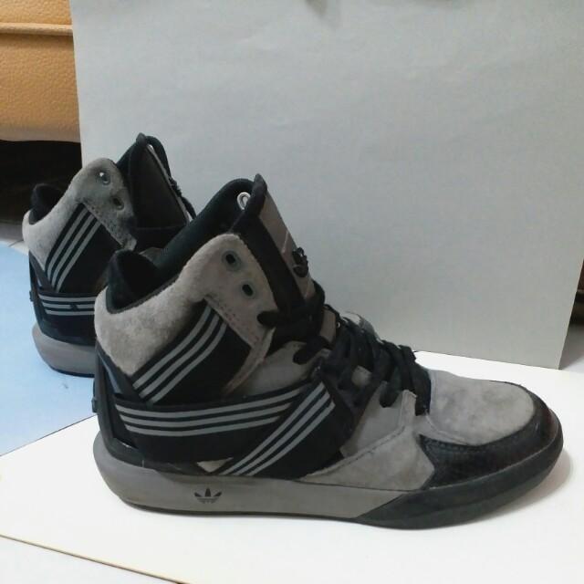Adidas originals c-10 高筒鞋繃帶鞋