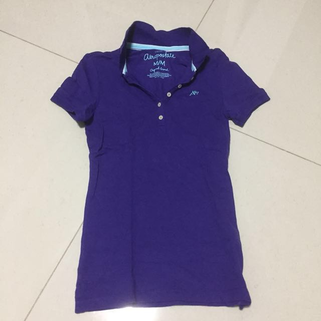c0e17062 Aeropostale Pique Polo Shirt Women's, Women's Fashion, Clothes, Tops ...
