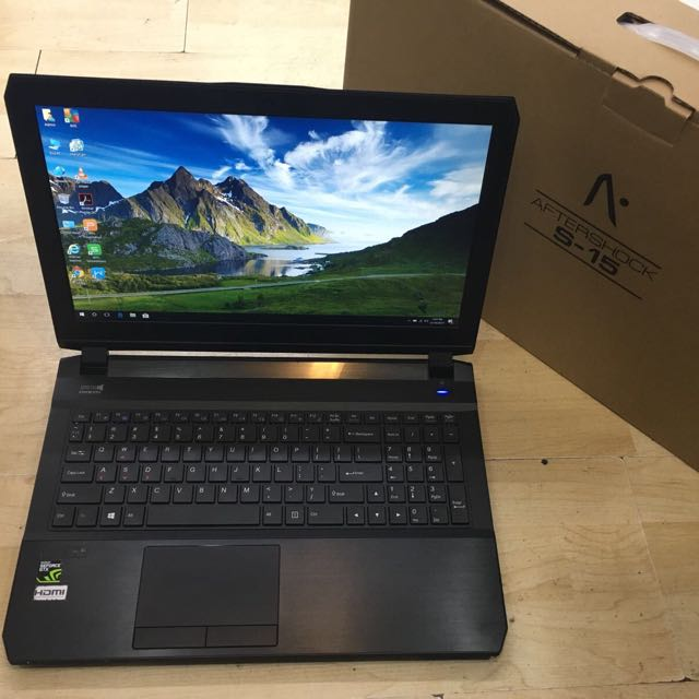 Aftershock S15 Core i7-6700hq GTX970m In Marvellous Condition !!