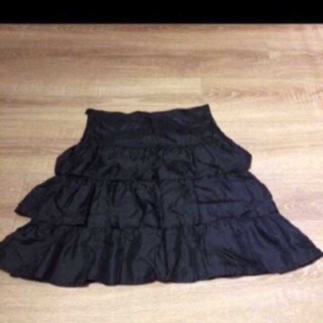 Agnes b全絲裙(法國製)