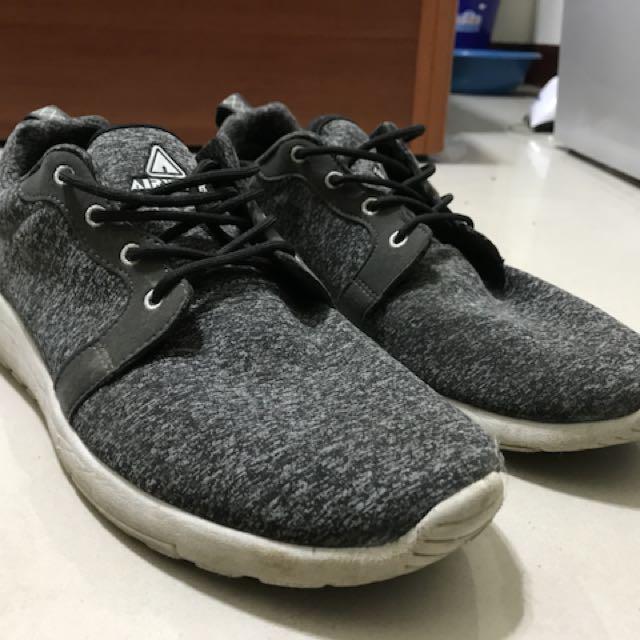 Airwalk輕量運動鞋 麻花灰 男US10/UK9/EU43/JP27.5