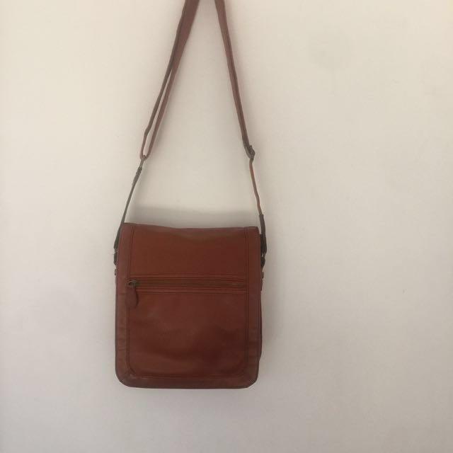 ALDO Messenger Bag - Tan