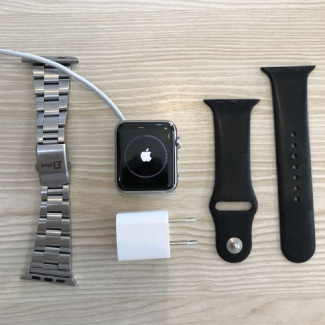 Apple Watch 42mm stainless steel rare item