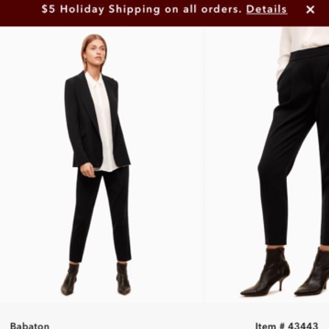 Aritzia Cohen Pant Size 2