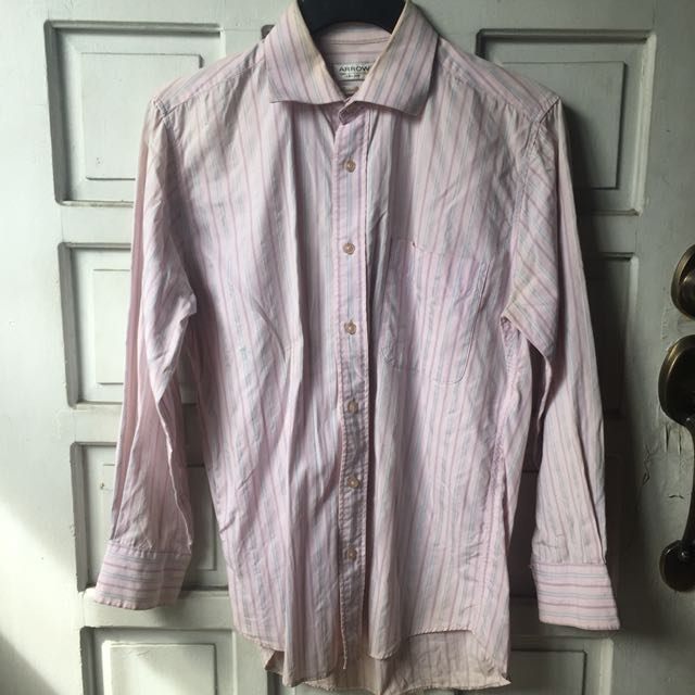 Arrow Button Down Long Sleeves