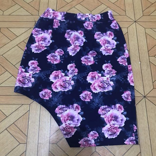 Asyimmetric skirt (rok)