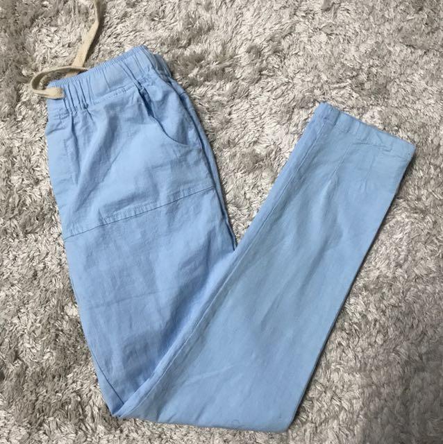 Baby Blue Pants