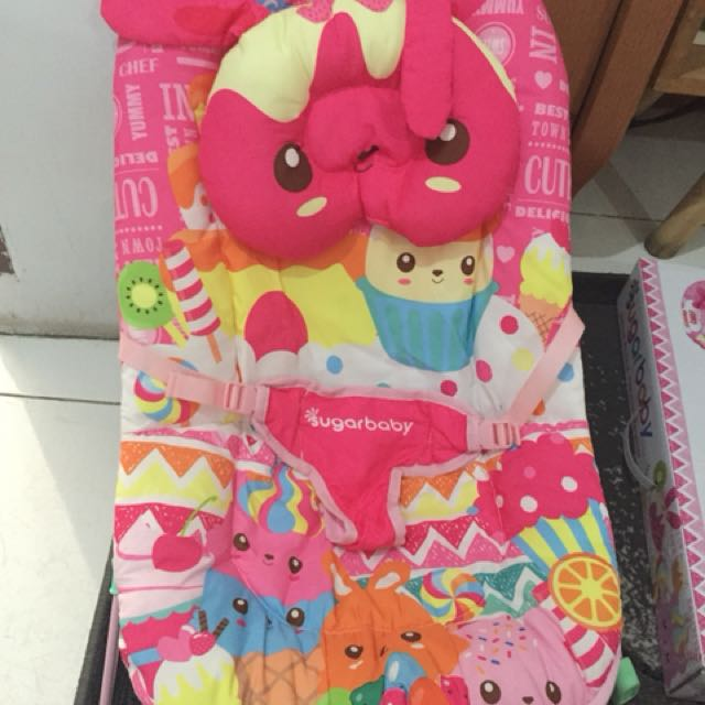Baby bouncer sugarbaby new exs kado msh segel