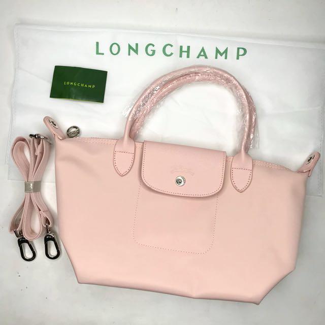 Baby Pink Longchamp Neo Small