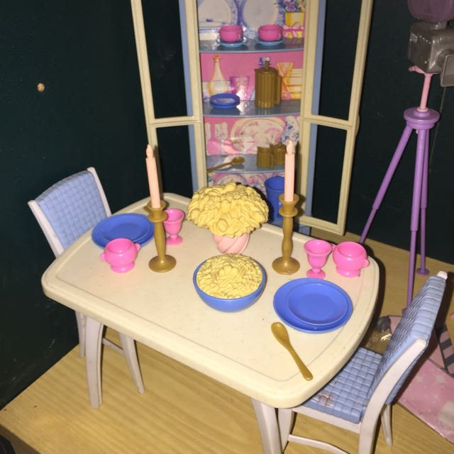 Barbie Dining Room Set