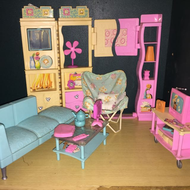 Barbie Living Room Set