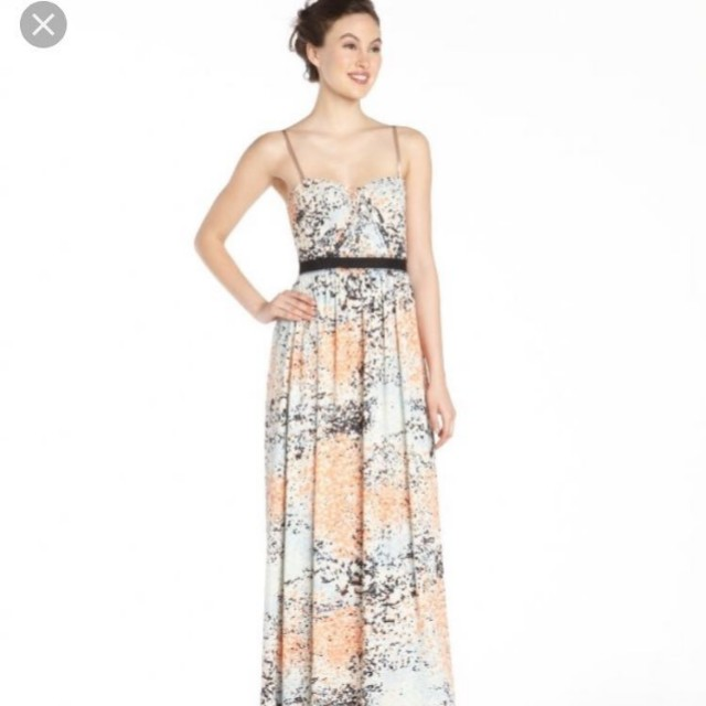 6bfd7bf7bfe684 BCBG Floral Maxi Dress
