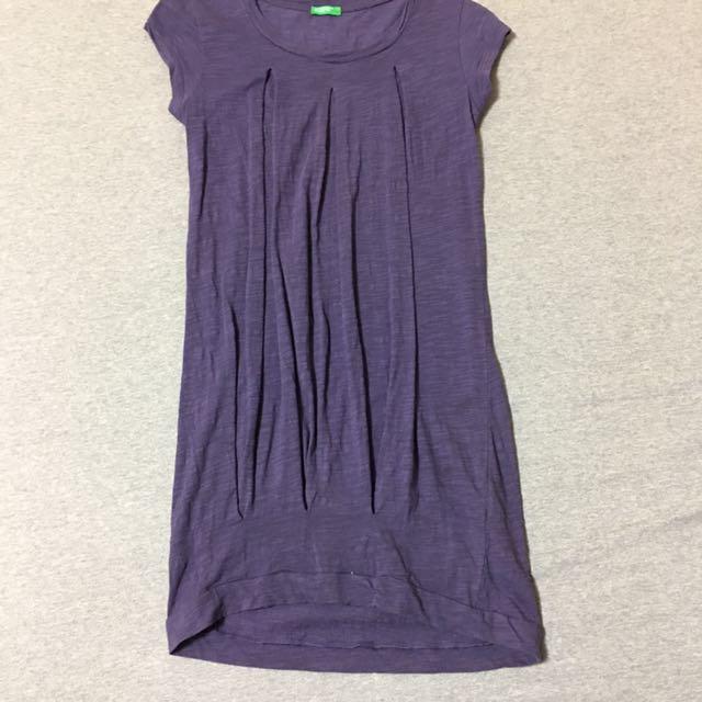 Benetton女(140)洋裝