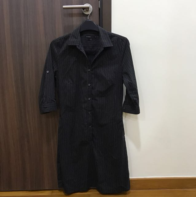 Black Padini Shirt Dress