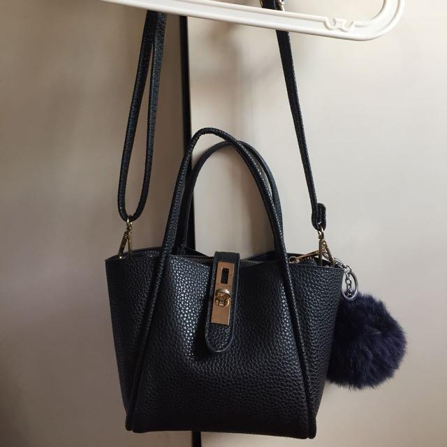 Black Sling/ Handbag