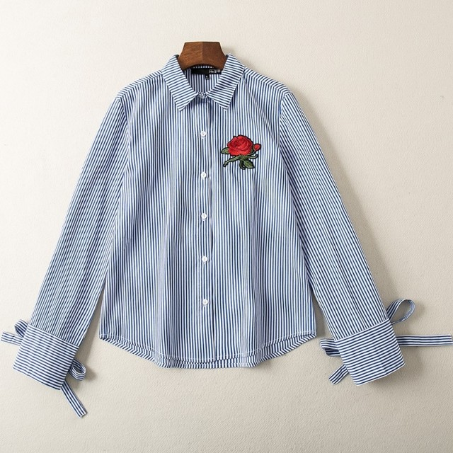 Blouse Embroidery long sleeve