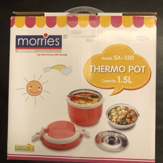 BNIB Morries Thermo Pot (1.5 liters)