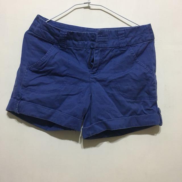 【bossini】藍短褲m號