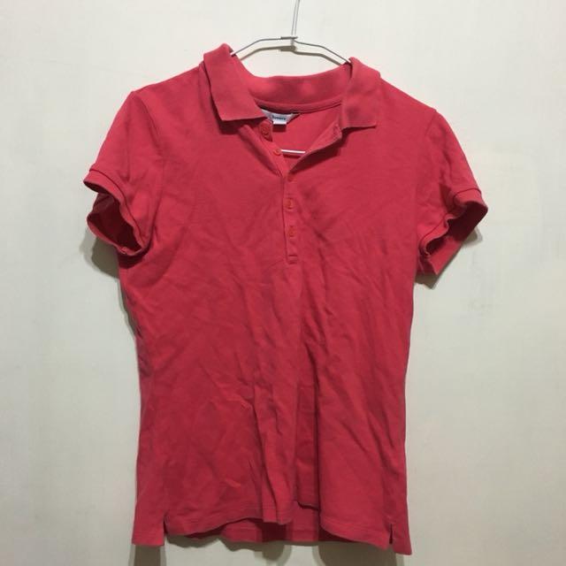 【bossini】粉色polo衫s號
