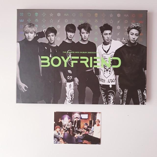 Boyfriend 2nd mini album 'Obsession'