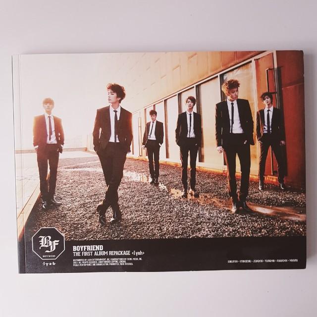 Boyfriend repackage album <I-yah>