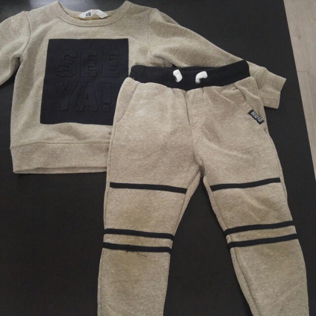 Boys Sweat Suit