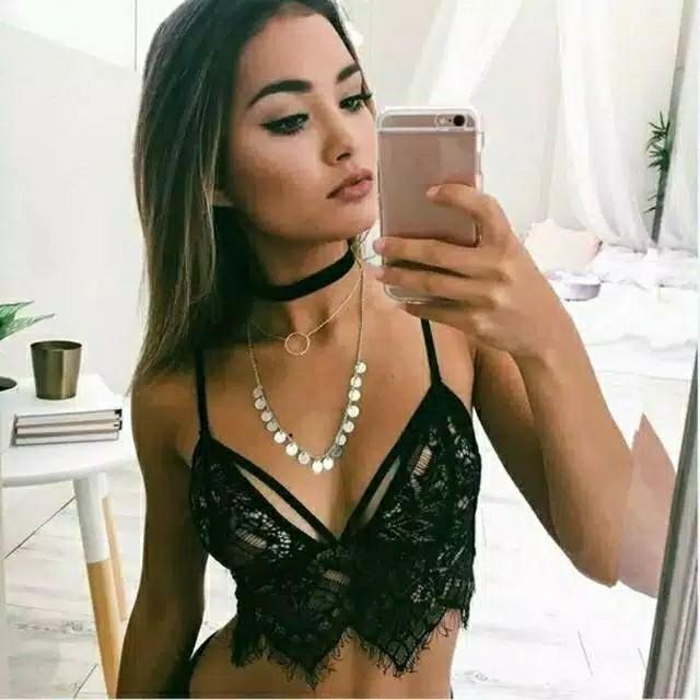 Bralette lace sexy