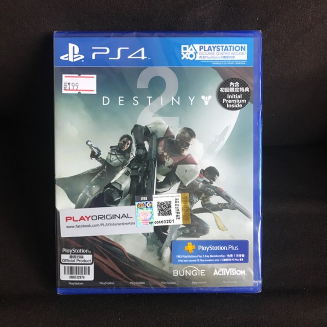 [Brand New] Destiny 2 PS4