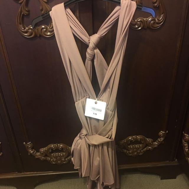 brand new wrap dress