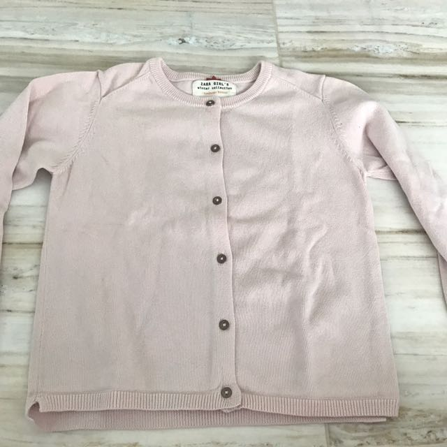 Cardigan zara pink