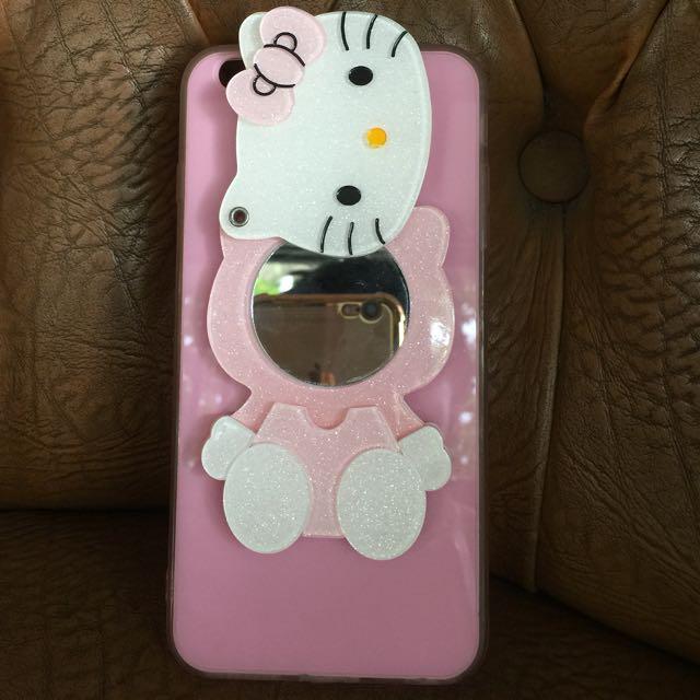 Case Mirror Hello Kitty iPhone 6+