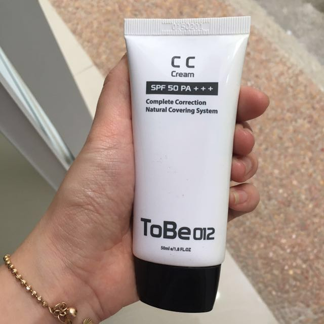 Cc Cream ToBe 012 made in Korea with SPF 50PA+++