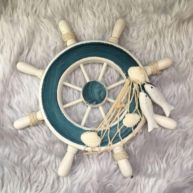 Ceramic Steering wheel Wall decor