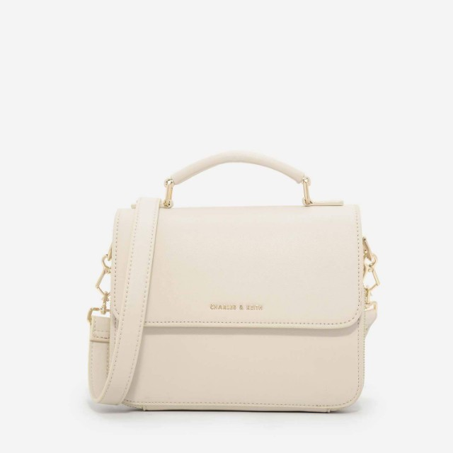 42ab593adde0 Charles   Keith - Basic Front Flap Crossbody Bag