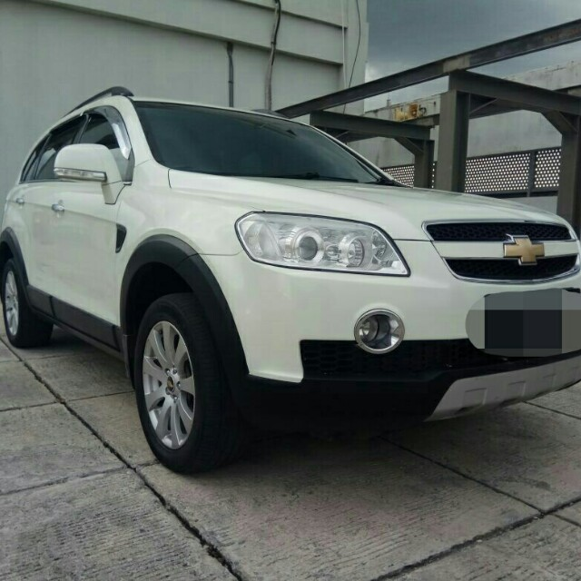 Chevrolet Captiva Ss 20 At Diesel 2011 Putih Cars Cars For Sale