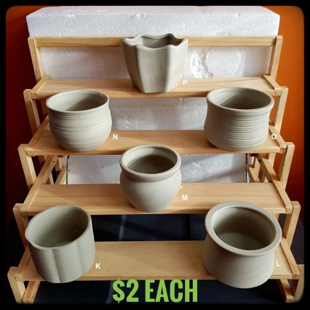 clearance sale unglazed fired clay pots furniture home decor on