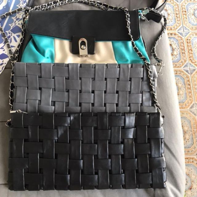 Clutch hand bags