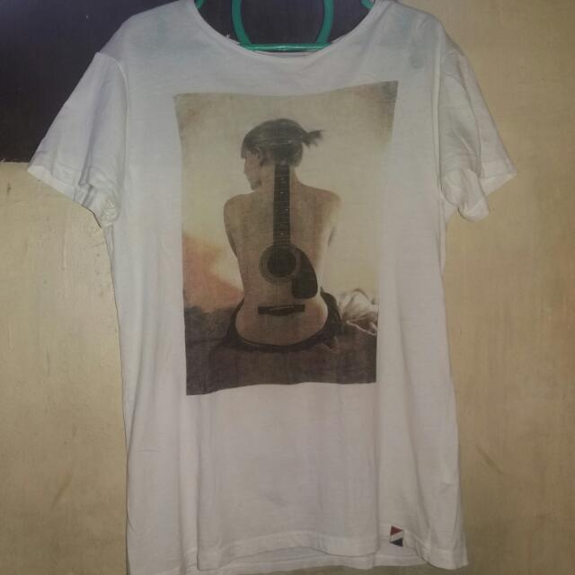 Cotton White Shirt Size Small
